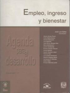 Empleo, ingreso y bienestar. Volumen. 11