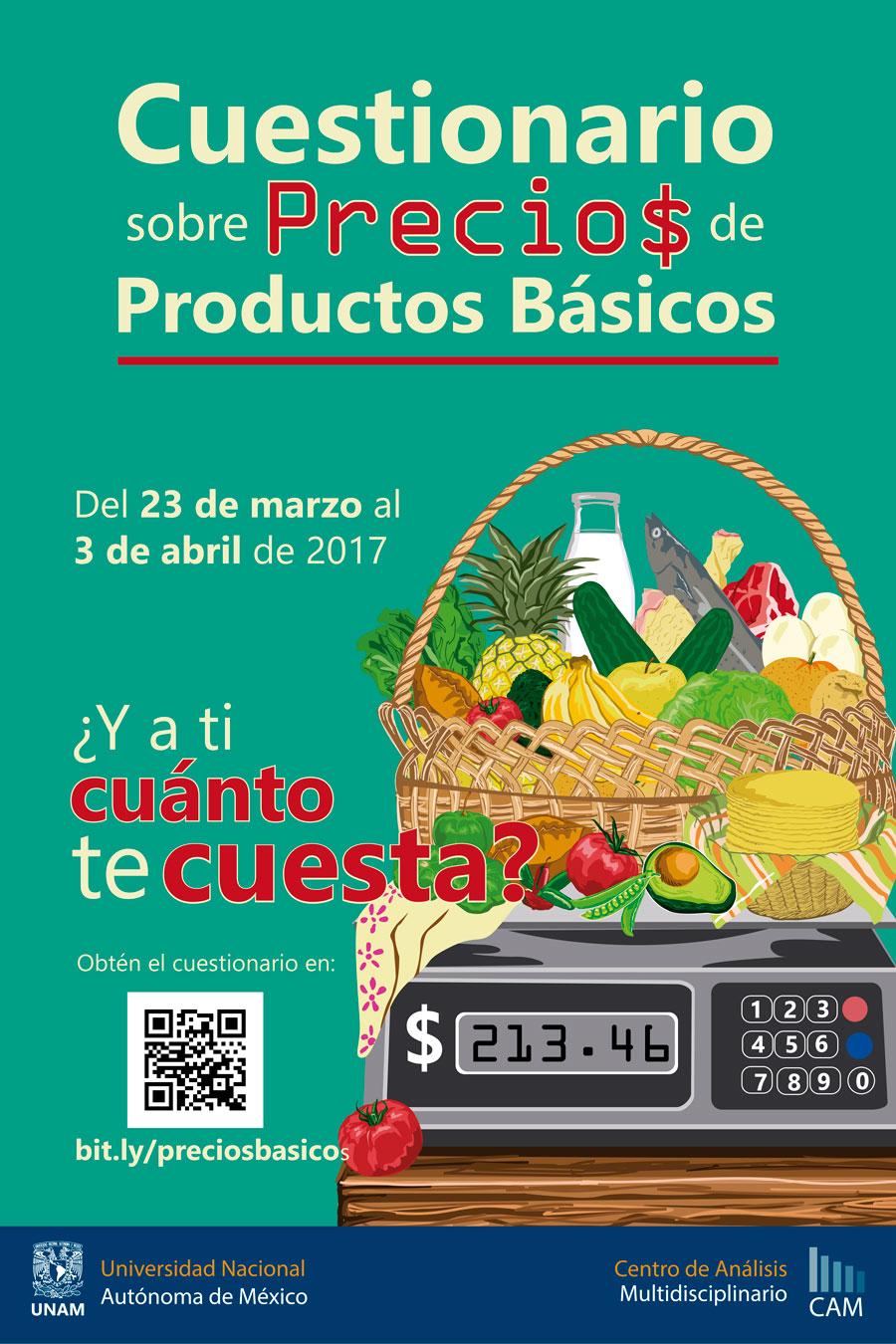 Cuestionario de precios de productos básicos